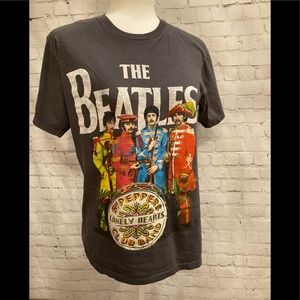 The Beatles Lonely Hearts Graphic T Shirt